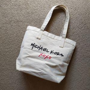 Michael Kors & XoXo Canvas Tote Bag